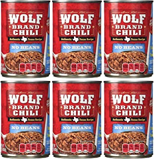 Wolf Brand No Beans Chili – 6/15 oz. Cans