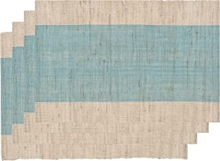 Now Designs Corsica Placemats (Set of 4), Turquoise
