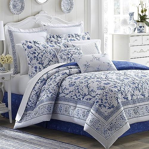 Comforter Sets Queen Ashley: Laura Ashley Bedding: Amazon.com