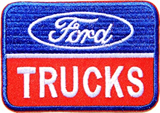 Ford Truck Vintage Sport Car Racing Advertising Logo Badge Sign Patch Sew Iron on Applique Embroidered T Shirt Jacket Custom Gift