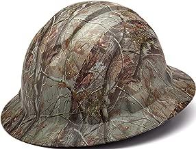 camo full brim hard hats