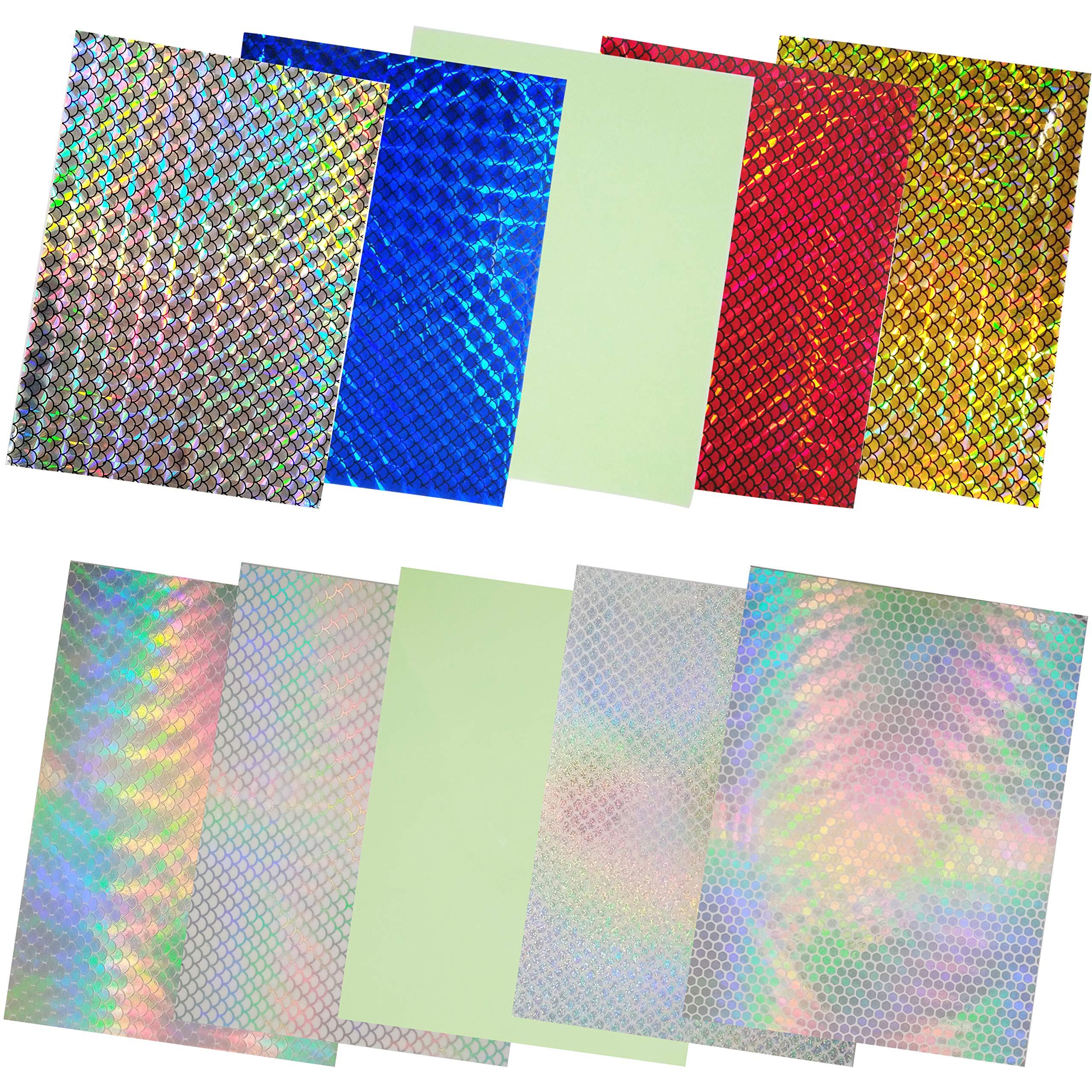 Details about  /Tape Lure Sticker DIY Modified Flash 20x10cm Scale Bait Useful Premium