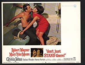 MOVIE POSTER: Don't Just Stand There Lobby Card #4-1968-Robert Wagner and Mary Tyler Moore