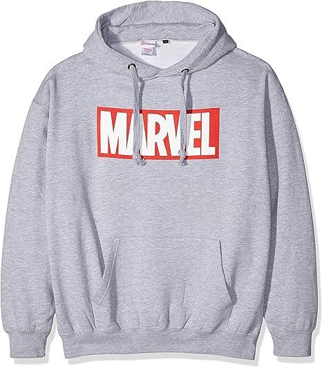 original logoshirt Hulk pull Marvel Comics-Bande dessinée capuche-sweat-shirt-gris