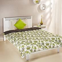 Amazon Brand - Solimo Microfibre Printed Comforter, Single (Spring Blossom, 200 GSM)