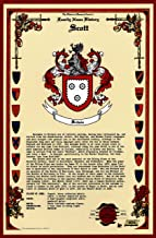 Scott Coat of Arms/Crest and Family Name History, meaning & origin plus Genealogy/Family Tree Research aid to help find clues to ancestry, roots, namesakes and ancestors plus many other surnames at the Historical Research Center Store