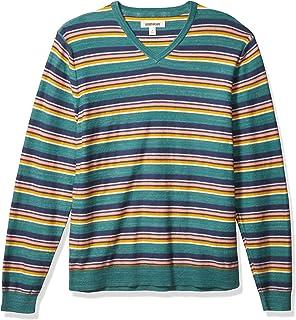 Goodthreads Men's Soft Cotton V-Neck Summer Sweater