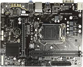 Gigabyte GA-H110M-H M-ATX Motherboard with Realtek GbE LAN, 6th and 7th Gen Intel Processor Support