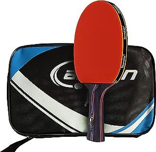 Senston Table Tennis Racket Ping Pong Paddle Table Tennis Bat,Shake Hand Grip,Including Carrying Bag
