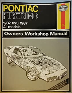 Pontiac Firebird 1982-87 Owner's Workshop Manual