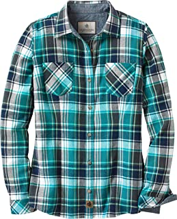 Womens Cottage Escape Flannel Shirt