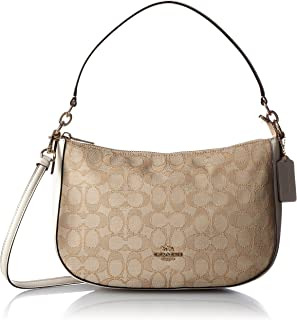 Coach Chelsea Ladies Small Signature Jacquard Shoulder Bag 37584LIDQC