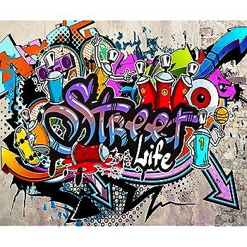 D/éco Mural Tableaux Muraux Photo Papier peint intiss/é Mur de Pierre 50x35 cm Trompe l oeil decomonkey