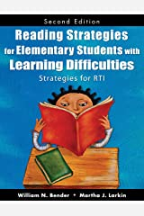 Reading Strategies for Elementary Students With Learning Difficulties: Strategies for RTI (English Edition) eBook Kindle