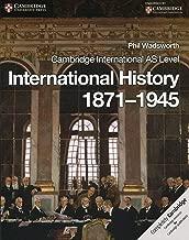 Cambridge International AS Level International History 1871-1945 Coursebook (Cambridge International AS Level History)