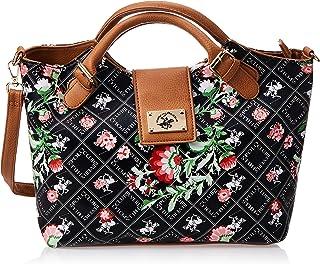 BHPC Womens Satchel Bag, BLACK - BHVE1081