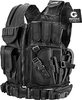BARSKA BI13196 Loaded Gear Plus Size Tactical Vest VX-200 (Black) Right Hand