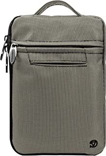 Vangoddy Hydei Protective Bag Sleeve Carrying Case for Visual Land Prestige Elite Pro 8Q, Pro 8D 8 inch Tablets (Grey)