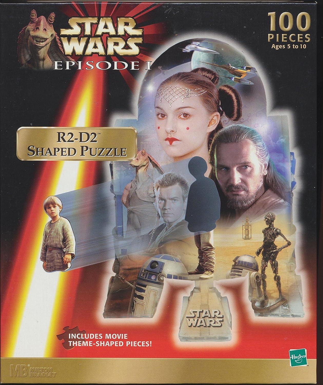 Hasbro Star Wars Episode 1 Jar Jar Binks Shaped 100pc. Puzzle