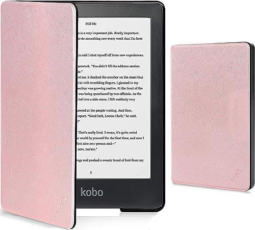 Forefront Cases Coque pour Kobo Clara HD - Cover Housse de Protection Magnétique pour Kobo Clara HD - Smart Veille Ré...