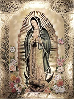 Our Lady of Guadalupe Body Portrait Roses(8