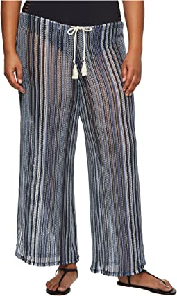 BECCA by Rebecca Virtue - Plus Size Pierside Pant Bottoms