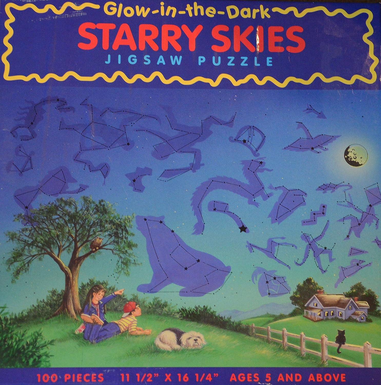 Glow in the Dark Starry Skies Jigsaw Puzzle