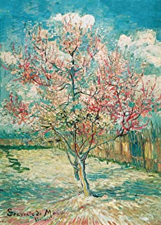 KWYZ 1000 Pieces Jigsaw Puzzles for Adults - The Pink Peach Tree, Large Jigsaw Puzzle for Educational Gift Home Decor(27.5...