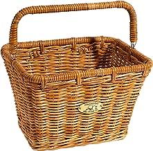 Nantucket Bicycle Basket Co. Dutch Basket (Large Rectangle with Hooks)