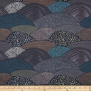 Art Gallery Fabrics 0399589 Art Gallery Hello Bear Summit Twilight Fabric by the Yard