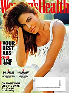 Women's Health Magazine May 2019 EVA MENDES Cover, YOUR BEST ABS