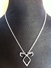Angelic Power Rune Necklace Inspired by The Mortal Instruments City of Bones--Silver