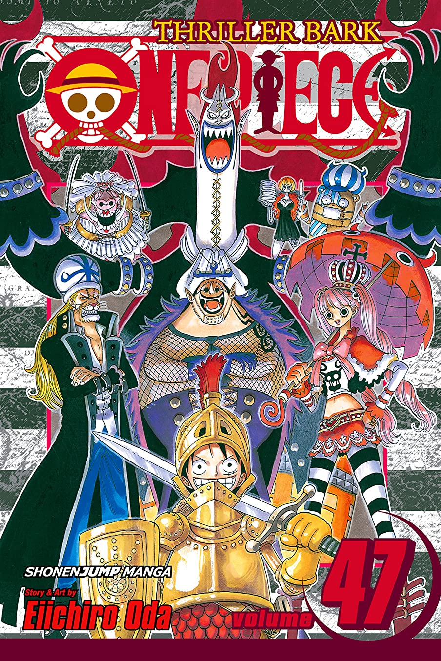 懐疑論ペックホップOne Piece, Vol. 47: Cloudy, Partly Bony (One Piece Graphic Novel) (English Edition)