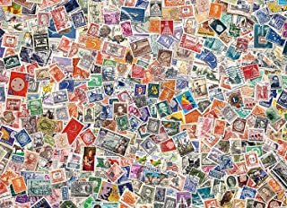 Philatelist Dream Jigsaw Puzzle, Stamp Collector's Collage, High Quality Collection, 1000 Pieces