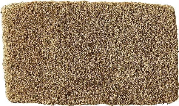 Kempf Natural Coco Coir Doormat 14 By 24 Inch