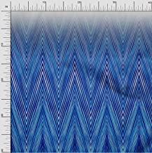 oneOone Cotton Flex Fabric Chevron Panel Fabric Prints by Meter 40 Inch Wide