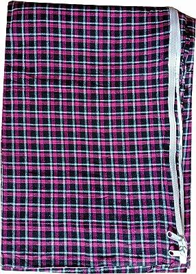 Everwey Enterprise Queen Size Cotton Mattress Cover- Multicolour ( 6ft. x 5ft.) /72 inch x 60 inch