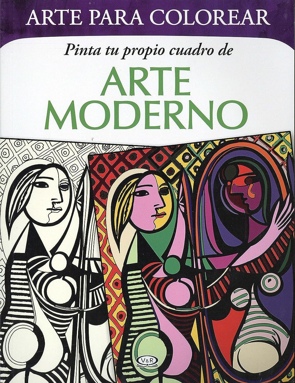 Pinta tu propio cuadro de Arte Moderno (Mandalas) (Spanish Edition)