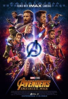 Avengers Infinity War Movie Poster Limited Print Photo Chris Hemsworth Chris Pratt Chris Evans Tom Hiddleston Robert Downey Jr. Zoe Saldana Scarlett Johansson Size 27x40 #1