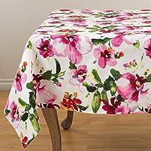 """مجموعة مناشف مطبخ مطبوع عليها زهور من مجموعة SARO LIFESTYLE Fiore (مجموعة من 4 قطع)، 50.8 سم × 71.1 سم، متعددة الألوان 60""""..."""