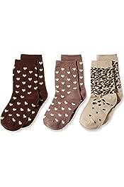 Country Kids Little Girls Truffle Lovers Socks 3 Pair