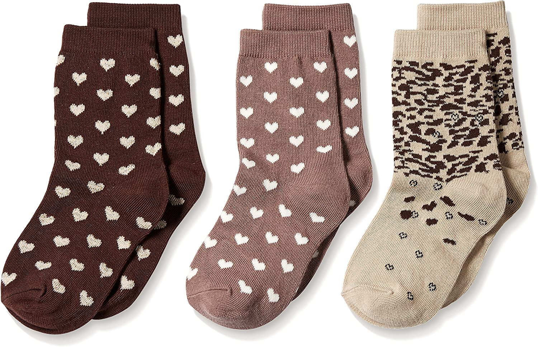 Country Kids Little Girls' Truffle Lovers Socks 3 Pair