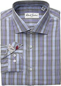 Keith Plaid Long Sleeve Dress Shirt