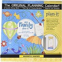 Family Plan-It 17-Month 2019 Calendar