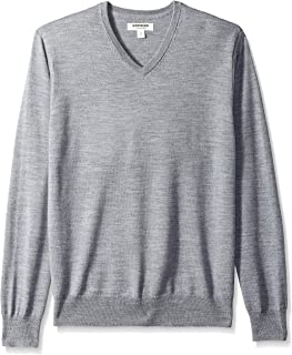 Amazon Brand - Goodthreads Men's Merino Wool V-Neck Sweater