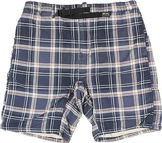 Mens Oxford Plaid Casual Walking Shorts
