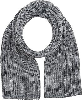 Wrangler Chunky Knit Scarf Bufanda, Gris (Grey 37), Talla única (Talla del fabricante: 88/88) para Hombre