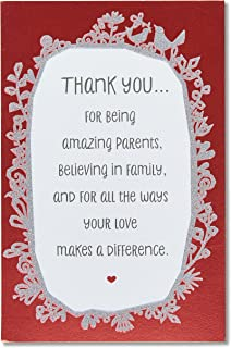 American Greetings Anniversary Card for Parents (Thank You)