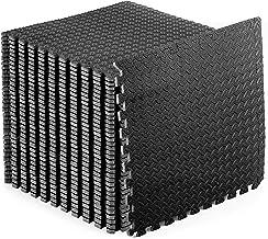 ProsourceFit Oefening Puzzelmat, 1/2-Inch Dikte, No.144 Zwart
