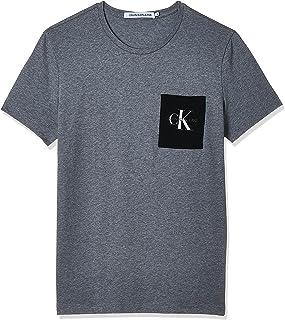 Calvin Klein Men's MONOGRAM POCKET SLIM T-Shirt
